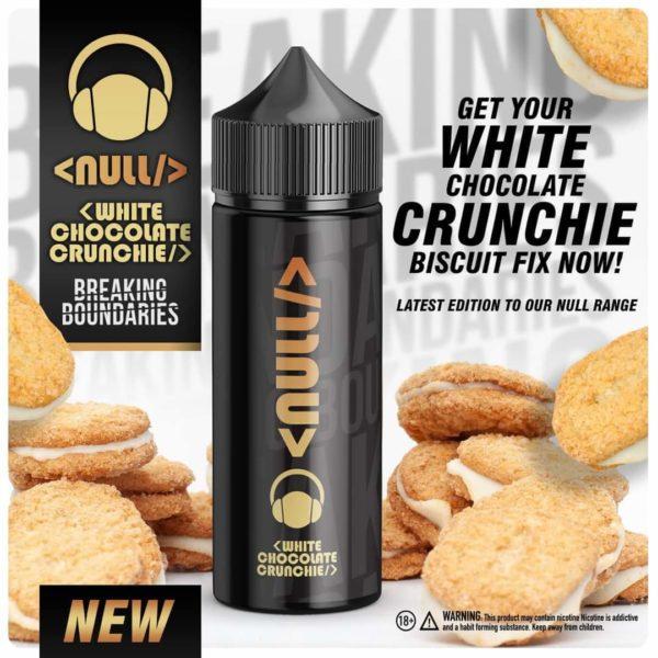 Null - White Chocolate Crunchie