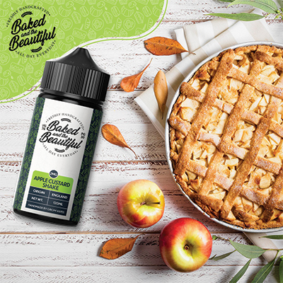 GBOM – Baked & the Beautiful – Apple Custard Shake