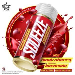 Five Points – Squeeze – Black Cherry Lemonade 120ml