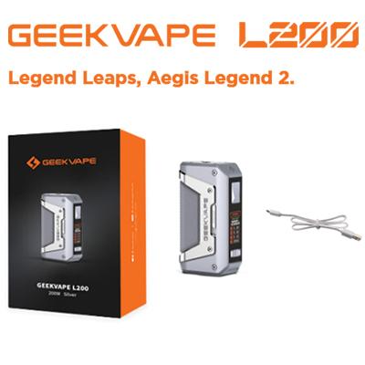 Geekvape Aegis Legend 2 (L2) Box Mod 200W